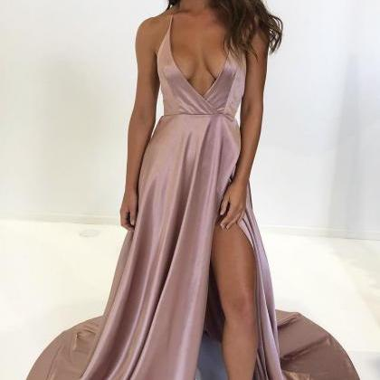 Sexy Backless Prom Dress Evening Dr..