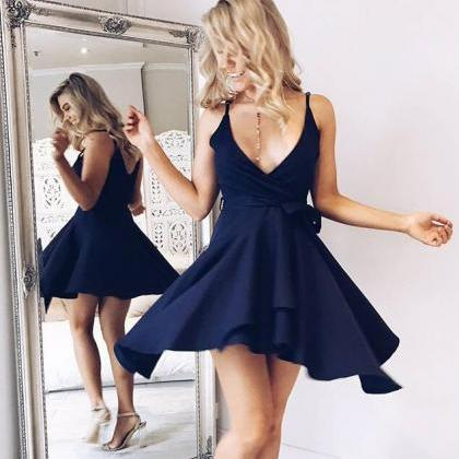 Sexy Short Skirt Prom Dress , Eveni..