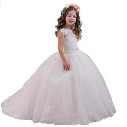 Flower Girl Dress , lace Dress, Kid..
