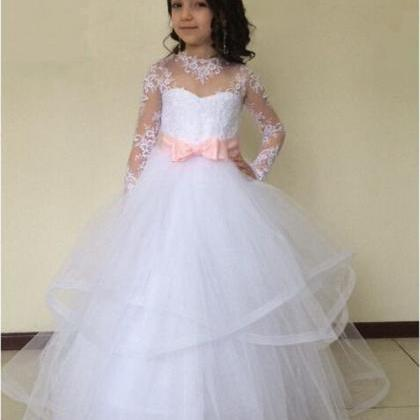 Flower Girl Dress , Lace Dress, Pri..