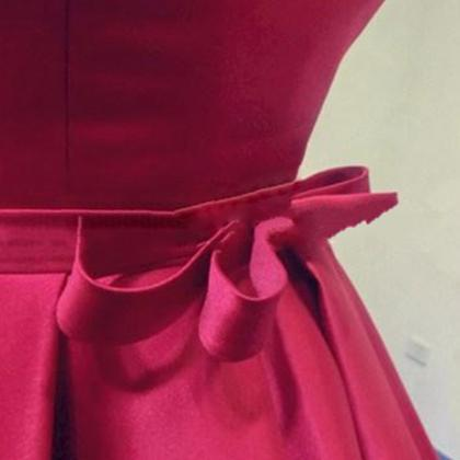 Long Burgundy Prom Dresses Ball Go..