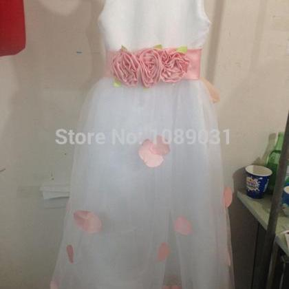 2016 Actual New Flower Girl Dresses..
