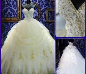 new noble ball gown ..