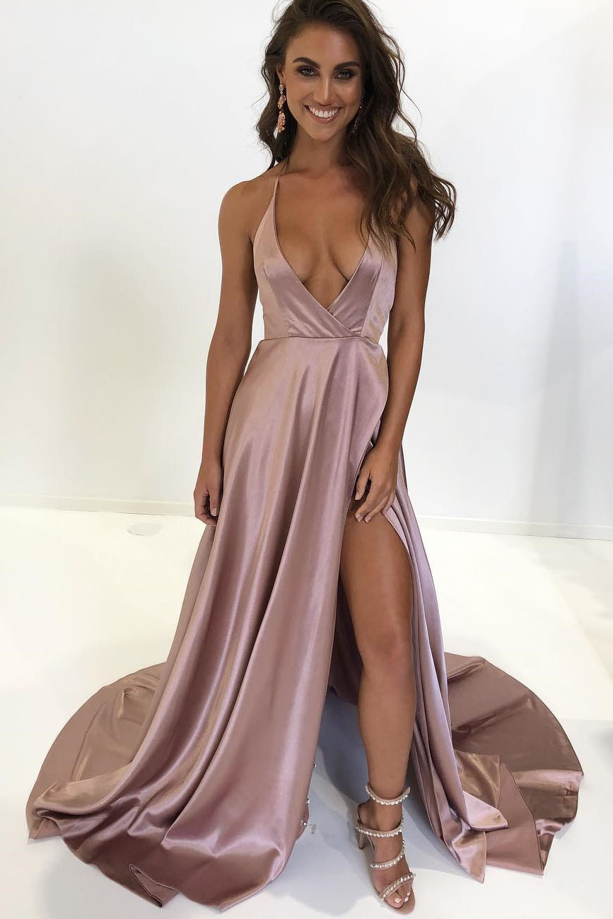 Sexy Backless Prom Dress Evening Dress Party Dress Bridesmaid Dress Wedding Occasion Dress Formal Occasion Dress