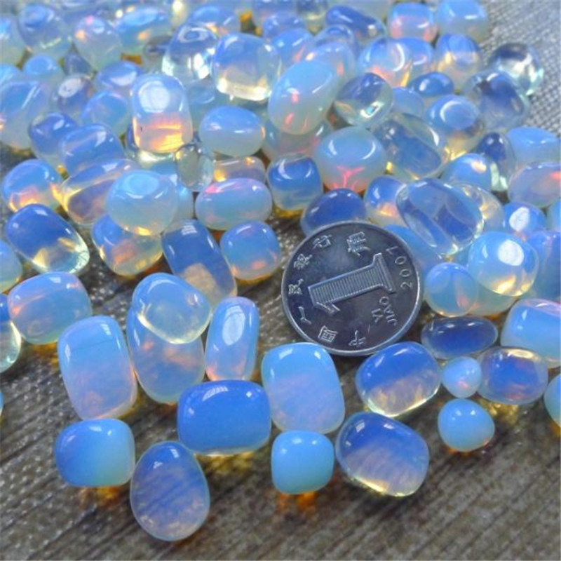 100% Natural Opal Lot of Tiny Clear Quartz Stone Crystal Rock Chips 100g QW2