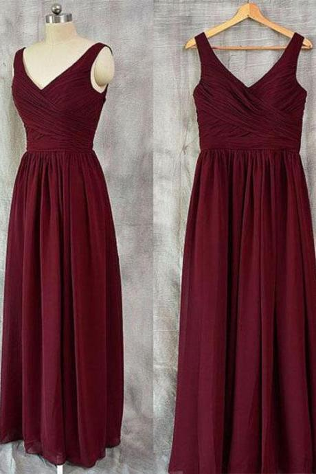 Sexy Long Chiffon Prom Dress Evening With Bow Dress Party Dress Bridesmaid Dress Wedding Occasion Dress Formal Occasion Dress