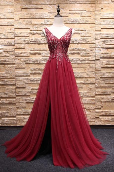 Sexy Long V Neck Chiffon Applique Full Length Prom Dress Evening With Bow Dress Party Dress Bridesmaid Dress Wedding Occasion Dress Formal Occasion Dress