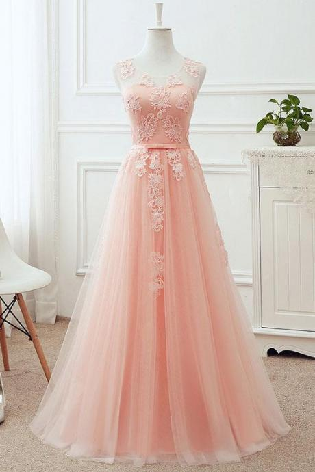 Lace Ball Gown Prom Dress Evening Dress Party Dress Bridesmaid Dress Wedding Occasion Dress Formal Occasion Dress