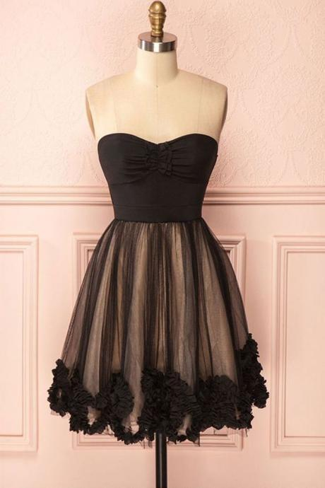 Sexy Short Skirt Prom Dress , Evening Dress , Party Dress , Bridesmaid Dress , Wedding Occasion Dress , Formal Occasion Dress