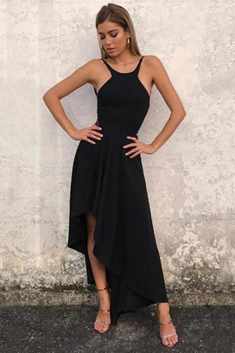 Sexy Full length Chiffon Backless Prom Dress , Evening Dress , Party Dress , Bridesmaid Dress , Wedding Occasion Dress , Formal Occasion Dress