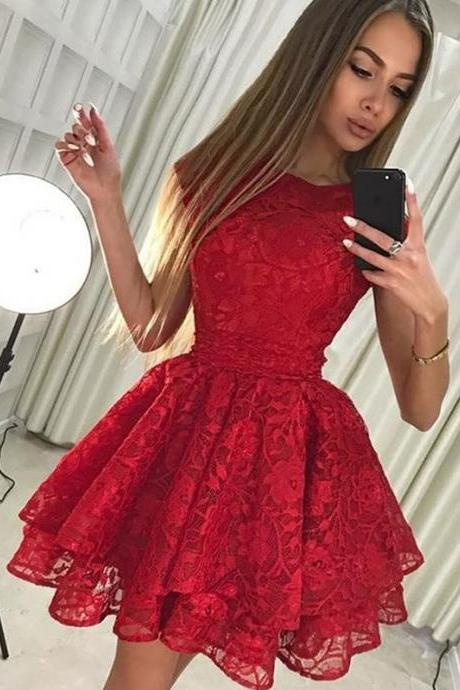 Short Party Dress Lace Up Prom Dress Evening Dress Prom Dress