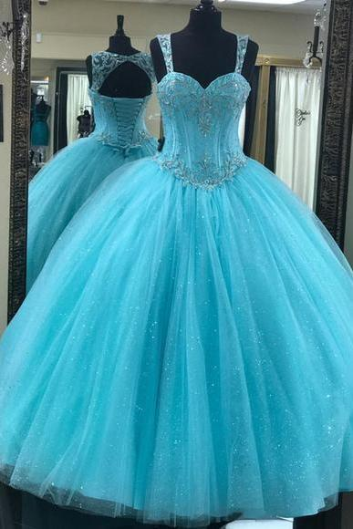 Custom Size Ball Gown Prom Dress Evening Dress Custom Color