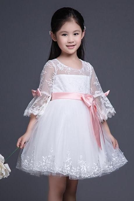 lace Dress,Flower Girls Dresses,Kids Dress,Child Clothing,Girl Brithday Party Dress,Princess Dress,Girl Party Dress,bridesmaid Dress A43