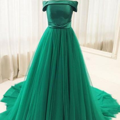 Sexy Full length Tulle Chiffon Prom Dress , Evening Dress , Party Dress , Bridesmaid Dress , Wedding Occasion Dress , Formal Occasion Dress