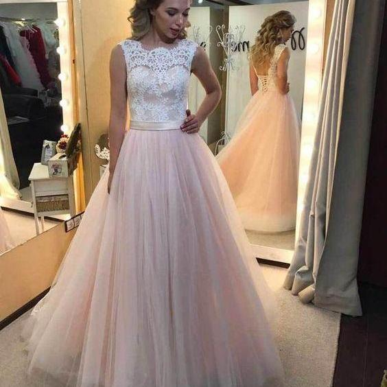 Lace Tulle Sexy Wedding Dress Party Dress , Evening Dress , Party Dress , Bridesmaid Dress , Wedding Occasion Dress , Formal Occasion Dress