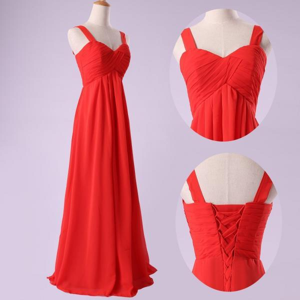 Fashion chiffon full length prom Dresses evening dress Bridesmaid Dresses L109